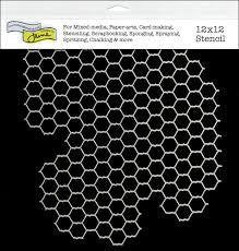 12x12 Template Chicken Wire - Shop and Crop Scrapbooking