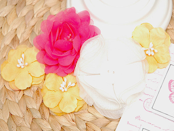 Felicity Flower Pack - Shop and Crop Scrapbooking