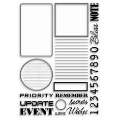 ATC - Clear Stamps