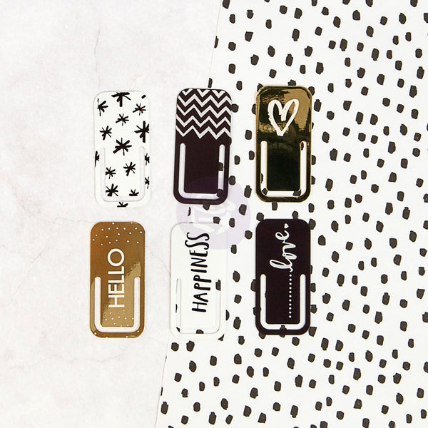 My Prima Planner Embellishments - Metal Clips - Shop and Crop Scrapbooking