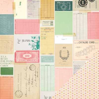 OPEN BOOK Maggie Holmes 3x5  Paper - Shop and Crop Scrapbooking