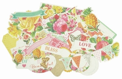 Tropical Punch Collectables - Shop and Crop Scrapbooking
