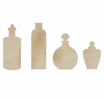 BottleS Wood Flourishes FL503 - Shop and Crop Scrapbooking