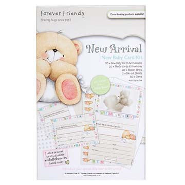Forever Friends New Arrival New Baby Card Kit - Shop and Crop Scrapbooking