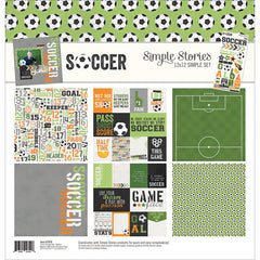 Simple Stories - Soccer Collection - 12 x 12 Collection Kit