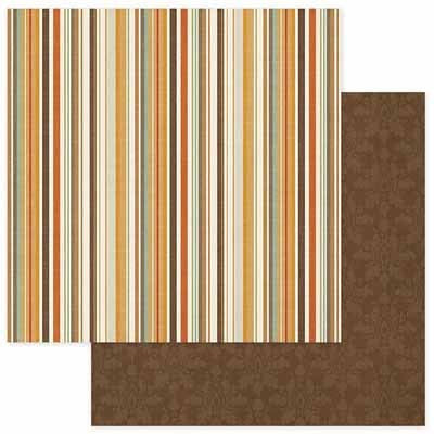 Photo Play Paper- Autumn Day Multi Stripe - Shop and Crop Scrapbooking