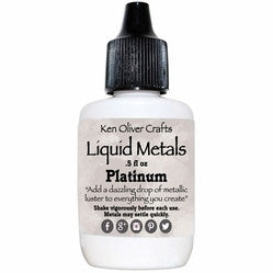 Ken Oliver Color Burst Liquid Metals - Platinum - Shop and Crop Scrapbooking