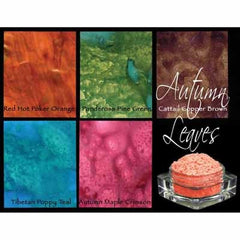 Lindy's Stamp Gang - Magical Set  - Autumn Leaves