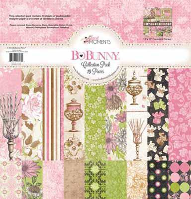 Bo BunnySweet Moments Collection Pack - Shop and Crop Scrapbooking