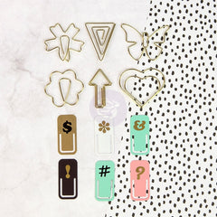 My Prima Planner Embellishments - Variety Paper Clips