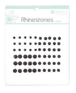 Rhinestones Black pk60 - Shop and Crop Scrapbooking