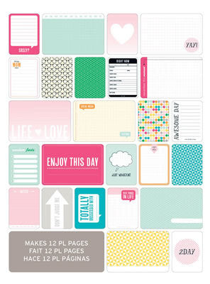 Themed Cards - Teen Girl 60 PK - Shop and Crop Scrapbooking