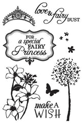Fairy Dust Clear Stamp