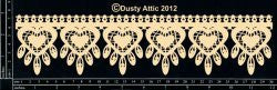 Lace Border #1 -DA0843 - Shop and Crop Scrapbooking