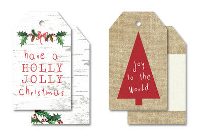Home for Christmas Tag Pk - Shop and Crop Scrapbooking