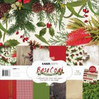 Kaisercraft Basecoat Christmas Paper Pack - Shop and Crop Scrapbooking