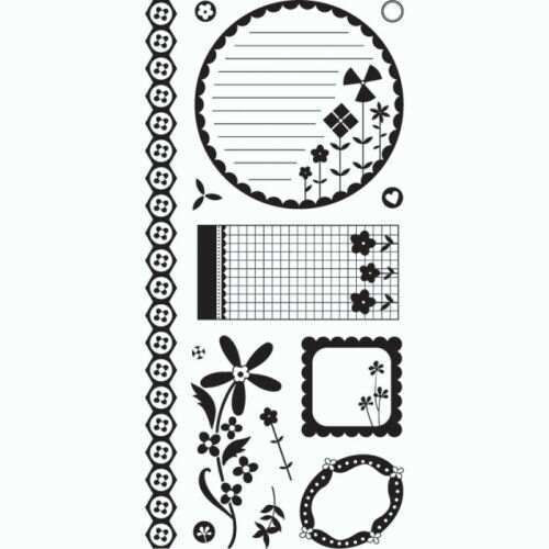 Clear Stamp Inspiration Kioshi - Shop and Crop Scrapbooking