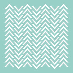 "12x12"" Template - Chevron"