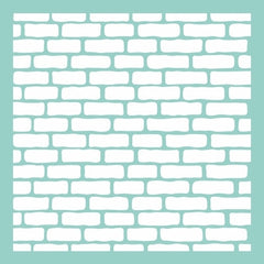 "12x12"" Template - Bricks"