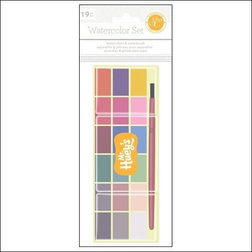 Studio Calico Mister Hueys Watercolor Set - Shop and Crop Scrapbooking