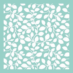 "12x12"" Template - Leaves"