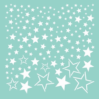 12x12 Template - Stars - Shop and Crop Scrapbooking
