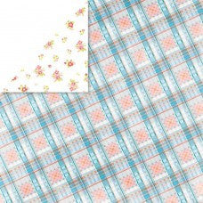Brightside 12x12 Paper Plaid - Shop and Crop Scrapbooking