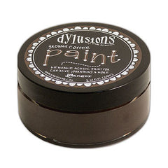 Dylusions Paint - Ground Coffee (NEW)