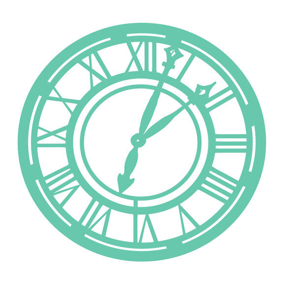 Template - Clock - Shop and Crop Scrapbooking