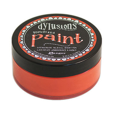 Dylusions Paint - Postbox Red - Shop and Crop Scrapbooking
