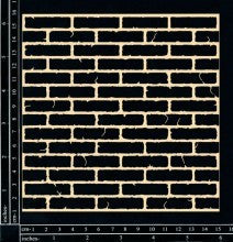 Chipboard Brick Wall Panel - Shop and Crop Scrapbooking
