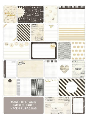 Themed Cards - Music 40 Pk - Shop and Crop Scrapbooking