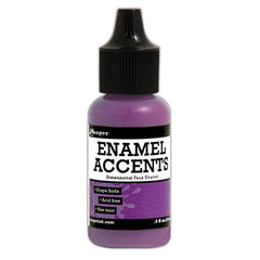 Enamel Accents - Grape Soda
