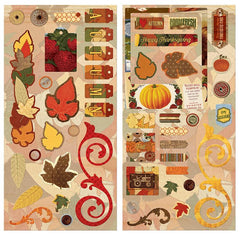 BoBunny - Farmers Market Collection - Chipboard Stickers