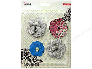 paper Flowers - On Trend - Shop and Crop Scrapbooking
