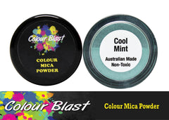 Colour Mica Powder - Cool Mint