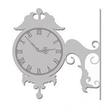 Decorative Clock - Shop and Crop Scrapbooking