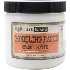 Finnabair Art Basics Modeling Paste 16oz