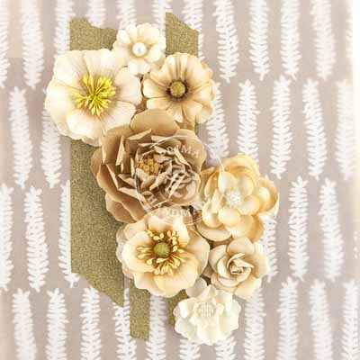 Prima Flowers-Capistrano - Gingerale - Shop and Crop Scrapbooking
