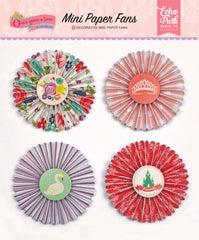 Once Upon A Time Princess Mini Paper Fans
