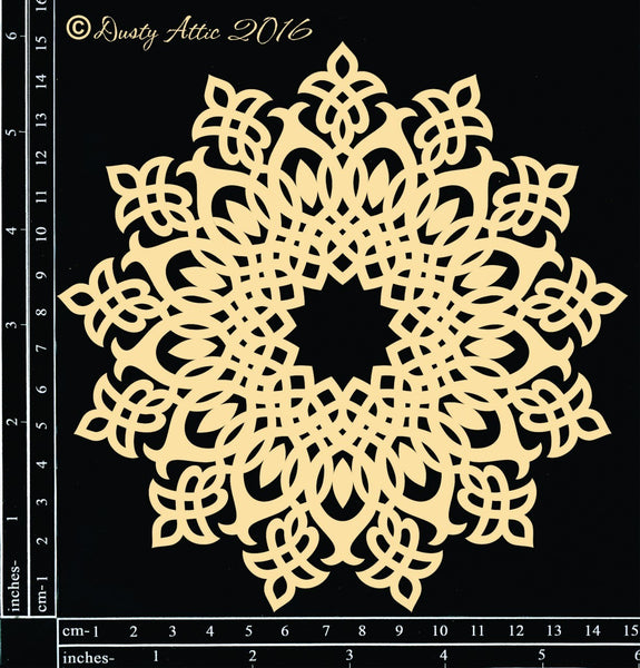 Doily #8 chipboard - Shop and Crop Scrapbooking