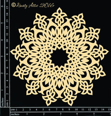 Doily #8 chipboard