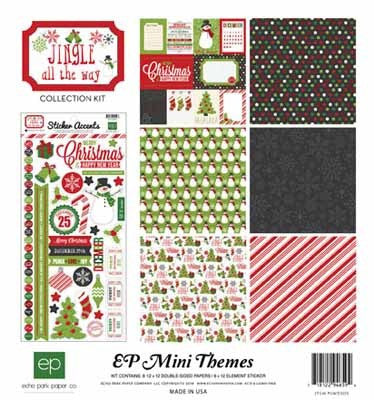 Jingle Collection Kit - Shop and Crop Scrapbooking