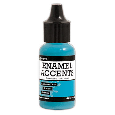 Enamel Accents - Caribbean Coast - Shop and Crop Scrapbooking