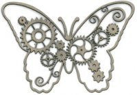 Steampunk Butterfly - Shop and Crop Scrapbooking