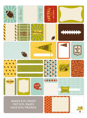 Themed Cards - Football 40 PK - Shop and Crop Scrapbooking