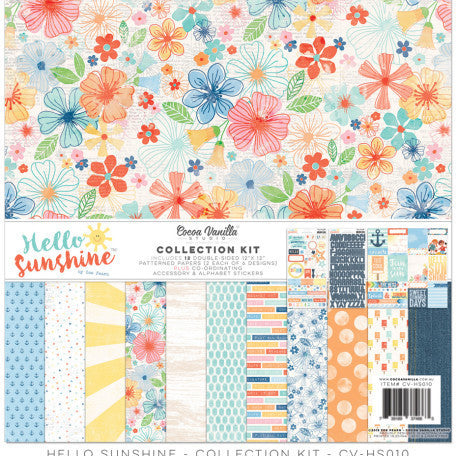 Hello Sunshine Collection Pack - Shop and Crop Scrapbooking
