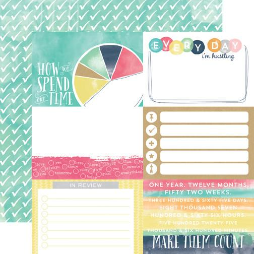 4X6 Journaling Cards Paper - Creative Agenda - Shop and Crop Scrapbooking