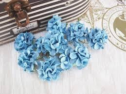 Frilly roses - Denim - Shop and Crop Scrapbooking