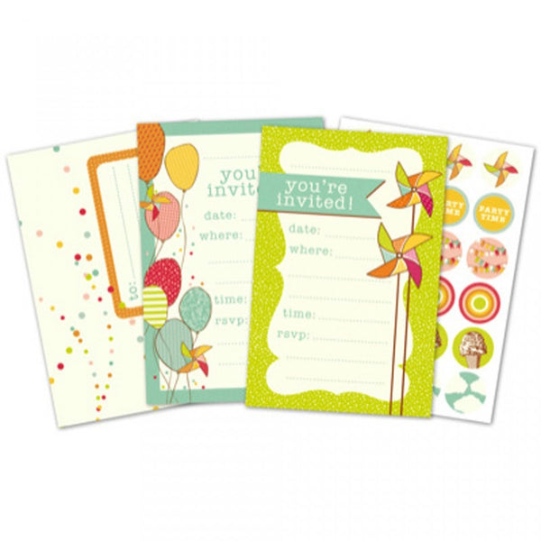 Invitation Pack - Shop and Crop Scrapbooking